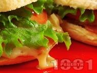 Сандвичи с Чедър и филе Елена